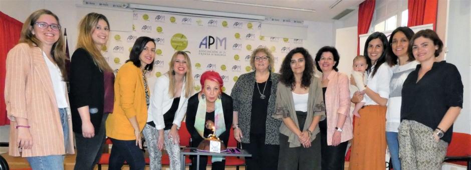 visita rosa maría calaf asamblea mujeres periodistas tintas de blas